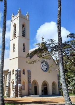 Маэ. Церковь bel Ombre.