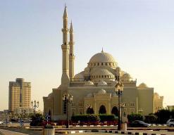 Дубай. Большая мечеть.