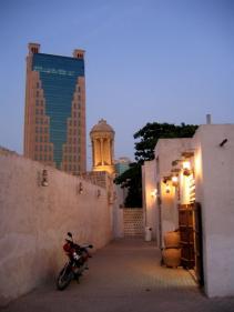 Шарджа. Традиционная застройка в центре города.