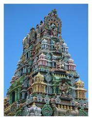 Фиджи. Нади. Индуистский храм.