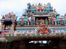 Пенанг. Индуистский храм.