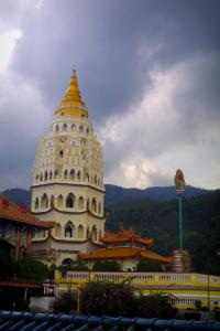 Пенанг. Пагода Рамы 6 или Пагода 10000 Будд.