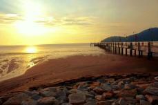 Пенанг. Пляж.