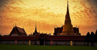 Бангкок. Королевский дворец.