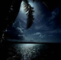 Муреа. Лунная ночь.