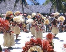 Таити. Таитянские танцы.