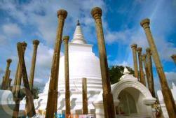 Анурадхапура. Храм.