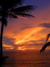 Маунт-Лавиния. Закат.