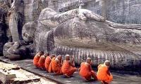 Полоннарува. Лежащий Будда.