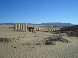 Мариб. Руины храма.